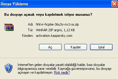 Herkesin KasperSky 7 Kendi Keyi Olsun ! Trial Key