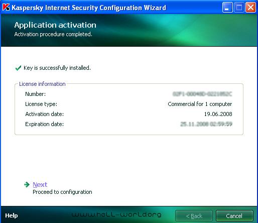 Лицензионный Ключ На Антивирус Касперского 7.0