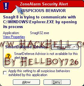 zone alarm12 Zone Alarm FireWaLL   [KuLLanım Klavuzu]  !(Resimli Anlatım)!