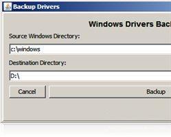 458921 Backup Drivers 1.5.0