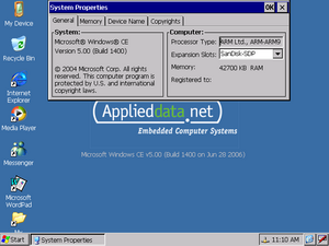 applieddata Windows CE için ASP.NET !: OpenNETCF Padarn