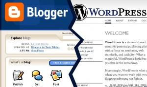 bloger wp 300x179 Blogger mı? WordPress mi?