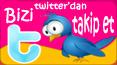 twitter Twitter Hesabı Aktif!