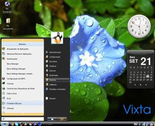 vixta Linux Vixta   Vista Gibi Linux